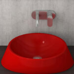 019 Glossy Red