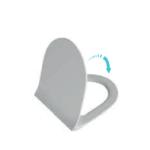 Deska WC duroplast wolnoopadająca V-Tondo